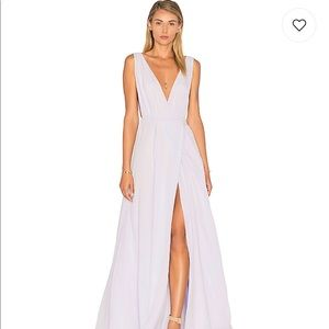 Lovers & Friends Leah Gown in Lavender